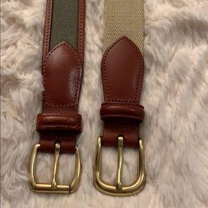 Men's Coach Belts